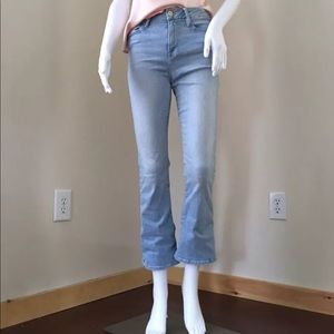 Frame Jeans 26 Le Crop Mini Boot LCMB394 Kitwood